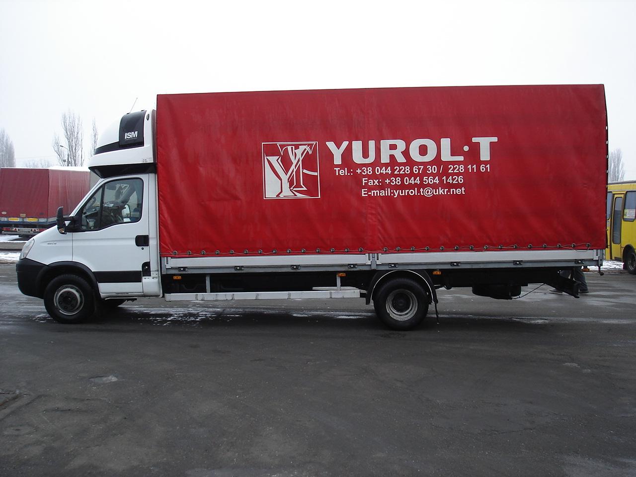 Tented trucks